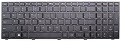 Replacement Keyboard for Lenovo Ideapad - Several Models Available - ***1 Year Warranty*** LaptopKing Keyboard (Z50 Z50-70/75/80 G70 G70-80 80EC 80E7 80FG 80FF, Black, Silver Frame) US Layout - Laptop King
