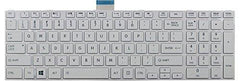 New Replacement Keyboard for Toshiba Satellite Portege Tecra - All Models Available ***1 Year Warranty*** (Satellite C50-A C50D-A C50D-A-023, White) US Layout - Laptop King