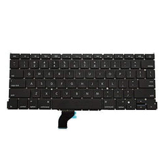 "LaptopKing Replacement Keyboard Without Backlit for Apple MacBook Pro 13"" A1502 ME864LL/A ME865LL/A ME866LL/A Retina Series Black US Layout, Compatible Part Number ME864 ME865 ME866-1 Year Warranty - Laptop King"