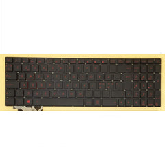 LaptopKing Replacement Keyboard for Asus GL552 GL552J GL552JX GL552V GL552VL GL552VX GL552VW-DH71 GL552VW-DH74 G552 G552V G552VW G552VX GL752 Backlit Red Word Keyboard - 1 Year Warranty - Laptop King
