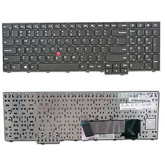 LaptopKing Replacement Keyboard for Lenovo Thinkpad Edge E531 E540 W540 W541 W550 W550S T540 T540P T550 L540 Series Laptops Black US Layout Compatible with 0C45254 04Y2465-1 Year Warranty - Laptop King