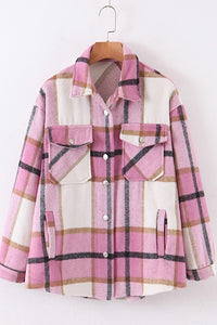 SHACKET PINK PLAID