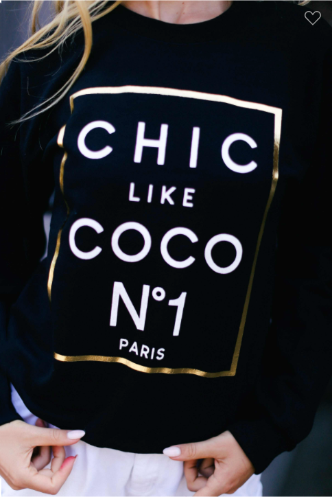 SWEATSHIRT CHIC LIKE COCO
