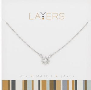 LAYERS NECKL SILV ASSORTED