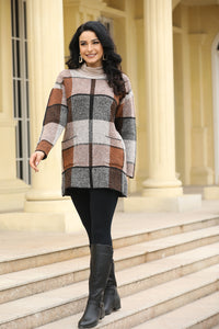 PLAID ONE SIZE TUNIC