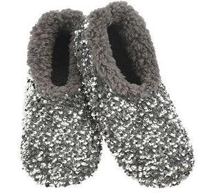 SNOOZIES SLIPPERS SEQUIN GLAM