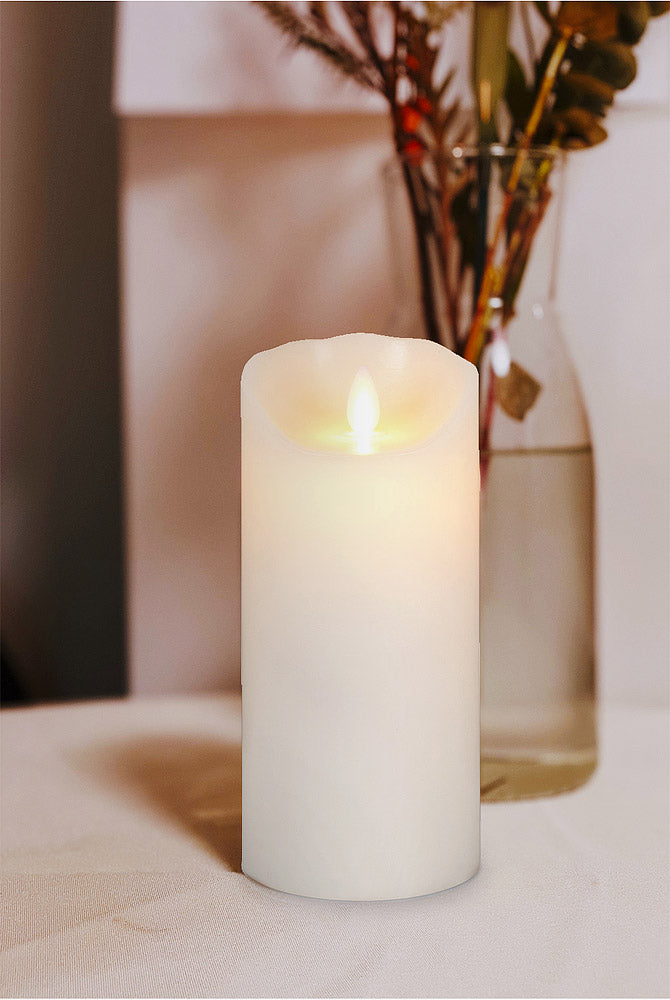 CANDLE FLAMELESS MEDIUM