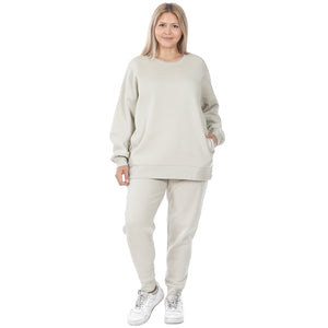LOUNGE SET SWEATSHIRT