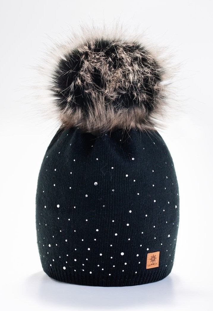 WOOLK HAT SCATTER SHINE