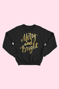 ALP SWEATSHIRT MERRY&BRIGHT