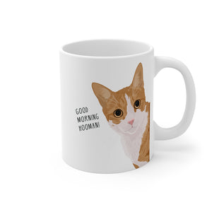 Custom Cat on Mug