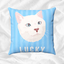 Load image into Gallery viewer, Custom Cat on Pillow