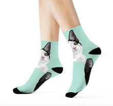 Load image into Gallery viewer, Customised Cat Socks