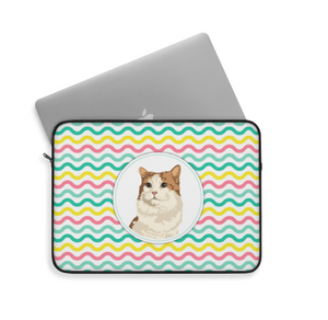 Customised Cat Laptop Bag