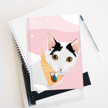 Load image into Gallery viewer, Customised Cat Notebooks