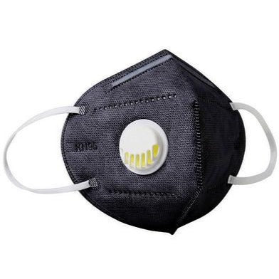 EASY BREATH KN95 PRO Mask Black | Breathing Valve 3 Day Shipping