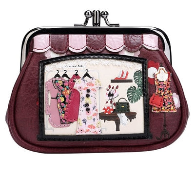 Vendula Vintage Clipper Coin Purse,  these coin purses are so adorable, great metal frame and vegan approved materials make this a lovely addition to your Vendula range or gift idea, for any age.
