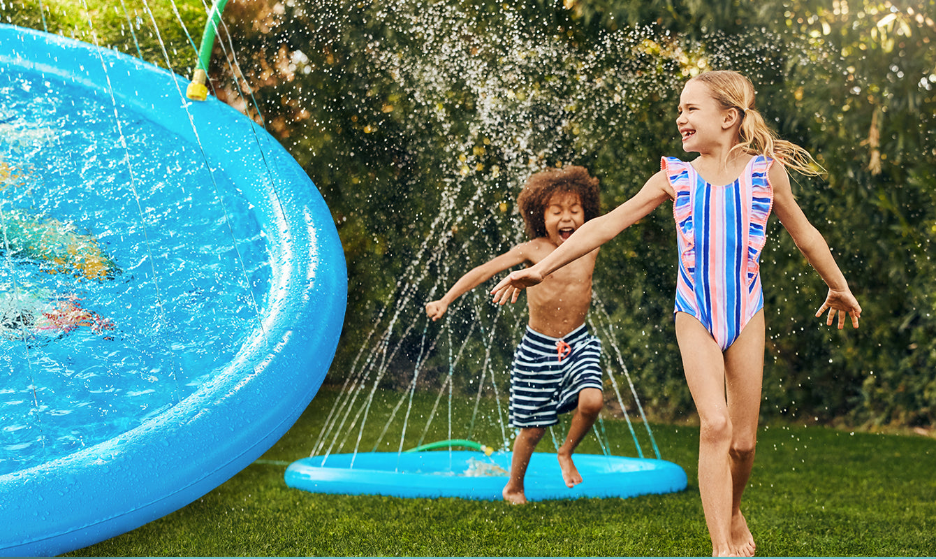 splash pad sprinkler toy for kids