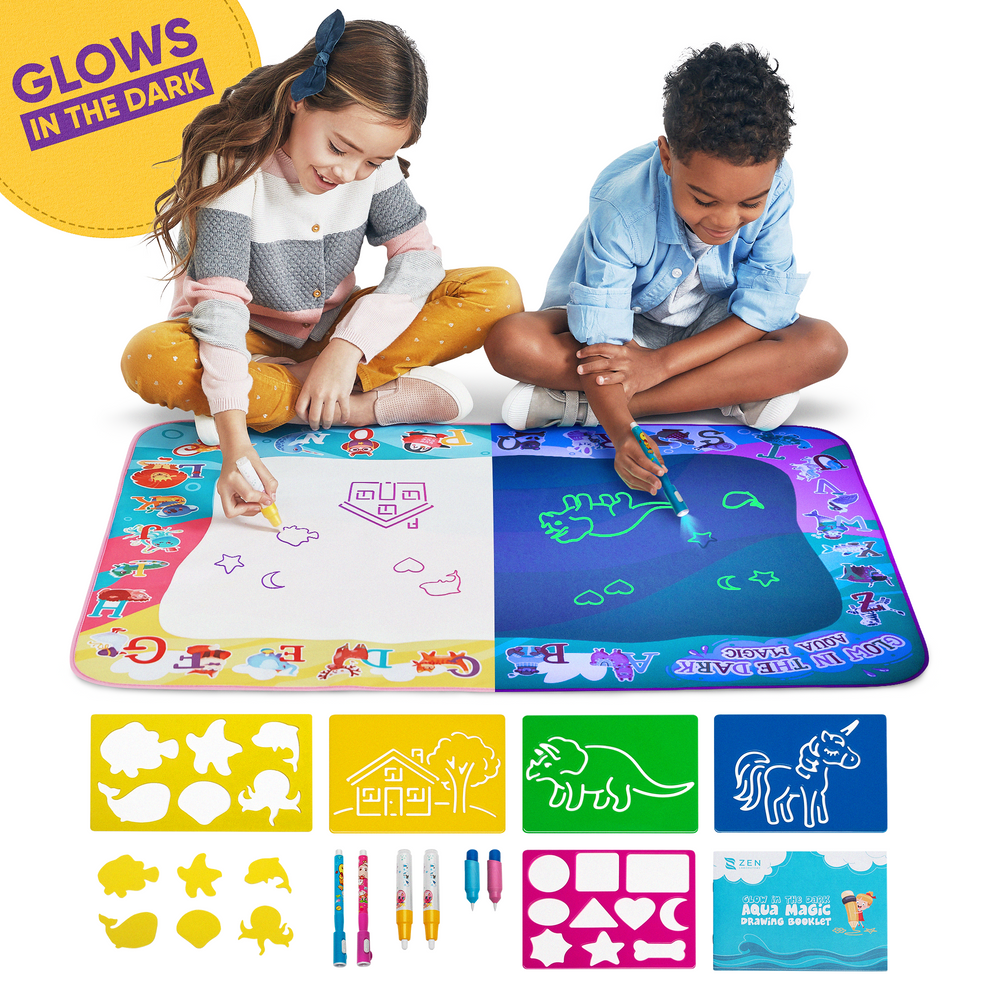Aqua Magic Doodle Mat with Glow in the Dark