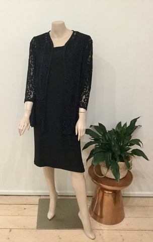 Heather cardigan - Black