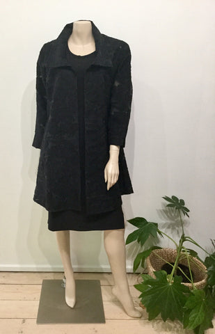 Pleat jacket - Oscar black