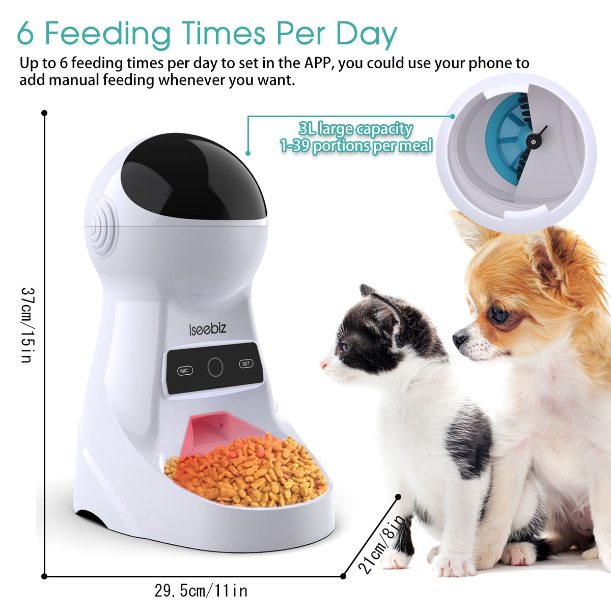 Automatic Wifi Cat/Dog Feeder