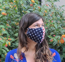 "Load image into Gallery viewer, Sewn Mask (""USA Together"")"