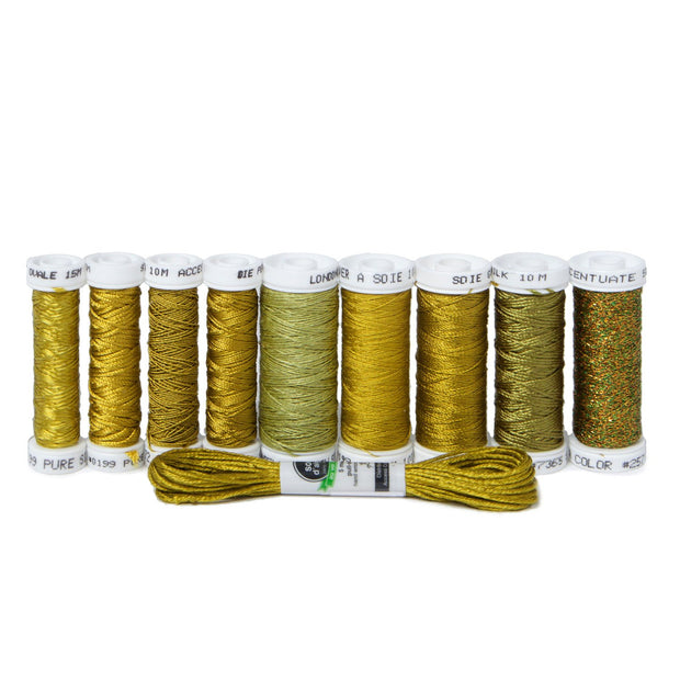Ensemble de Soie Thread Kit - Spanish Olive