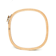 "Square Wooden Embroidery Hoops - 5/16"" (0.8 cm) Thick"