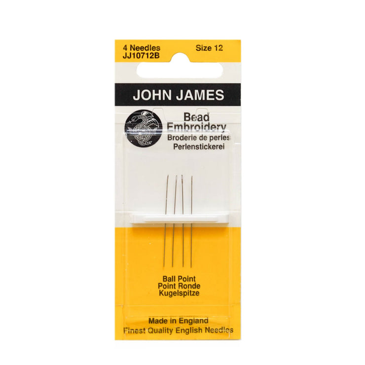 John James Beading Needle Short - Tapestry Point