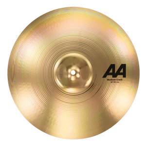 "SABIAN 16"" AA Medium Crash Brilliant Finish Cymbal 21608B"