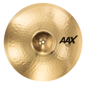 "SABIAN 18"" Thin Crash AAX Brilliant Finish Cymbal 21806XCB"