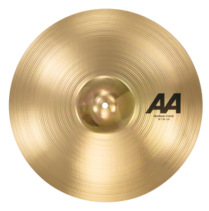 "SABIAN 18"" AA Medium Crash Brilliant Finish Cymbal 21808B"