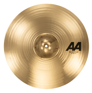 "SABIAN 18"" AA Raw Bell Crash Brilliant Finish Cymbal 2180772B"
