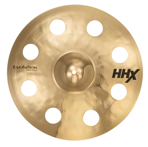 "SABIAN 18"" HHX Evolution O-Zone Crash Brilliant Finish Cymbal 11800XEB"
