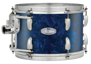 "Pearl Music City Custom 14""x12"" Masters Maple Reserve Series Tom  w/optimount BLUE ABALONE MRV1412T/C418"