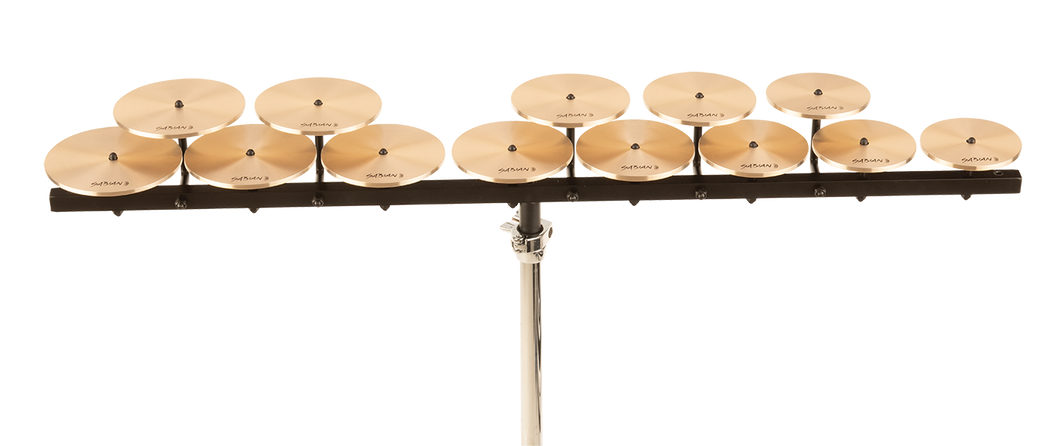 SABIAN Low Crotale Set (13) With Bar Cymbal 50403L