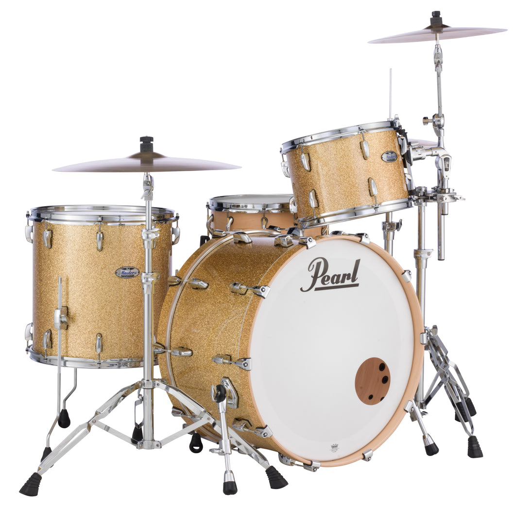 Pearl Masters Maple Complete 3-pc. Shell Pack BOMBAY GOLD SPARKLE MCT943XP/C347