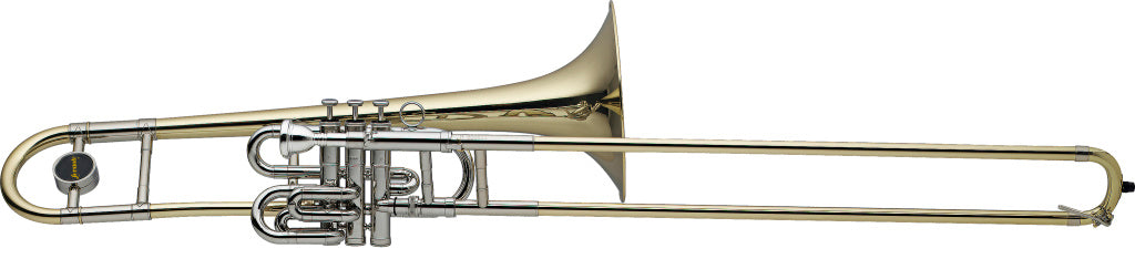 STAGG Bb Superbone, 3 pistons and trombone slide, S-Bore LV-TB4955