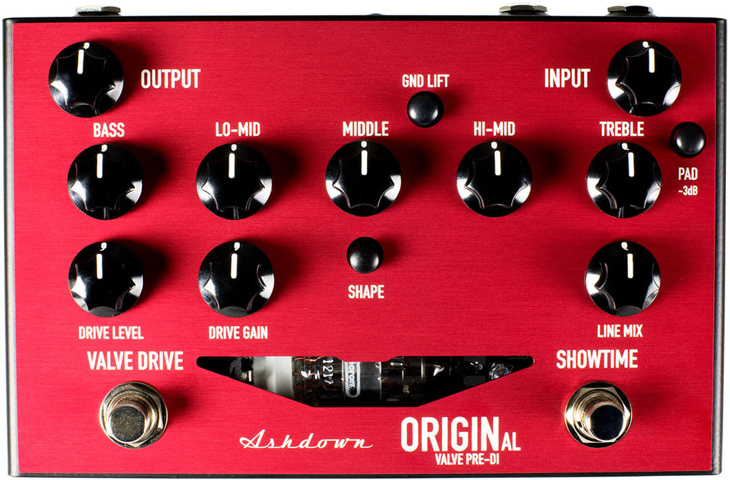 Ashdown FSORIGINALVALVEPREDI Valve Driven Pre-Amplifier Pedal