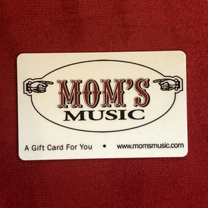 Mom's Music Gift Card