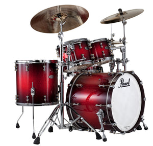Pearl Reference Pure Series 4-piece shell pack  SCARLET SPARKLE BURST RFP924XEDP/C377
