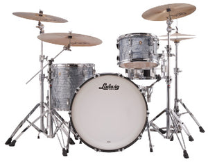 "Ludwig 24"" Classic Maple PRO BEAT Sky Blue Drum Shell Pack L84433AX52WC"