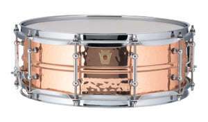 Ludwig 5X14 COPPER HAMMERED W/TUBE Snare Drum LC660KT