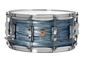 Ludwig 6.5X14 Classic Maple Snare Drum Vintage Blue Oyster LS403XX2QWM