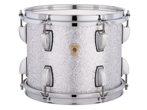 Ludwig 14X14 FLOOR TOM-Classic Maple Silver Sparkle Drum Shell Pack LF844LX0S