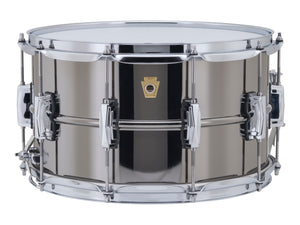 Ludwig 8X14 SUPRA-PHONIC Black Beauty Snare Drum LB408