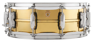 Ludwig 5X14 SUPER BRASS SNARE DRUM LB401