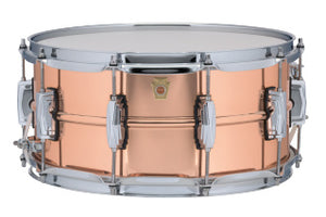 Ludwig 6.5X14 COPPER SMOOTH Snare Drum LC662