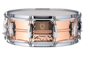 Ludwig 5X14 COPPER HAMMERED Snare Drum LC660K